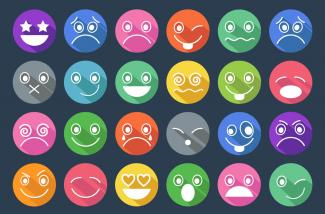 Mood face emojis