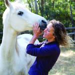 Equiine therapy with Arabian horses